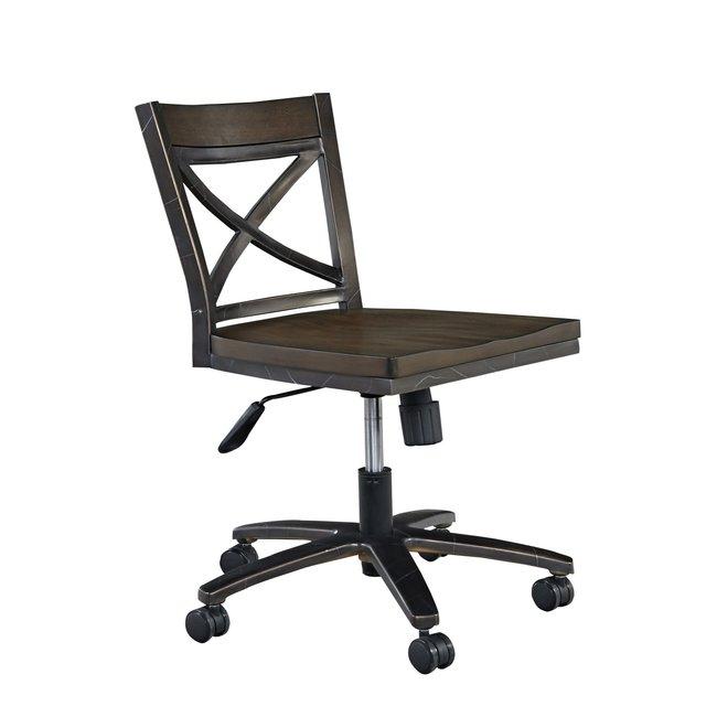 homestyles® Xcel Brown Swivel Desk Chair - 5079-53