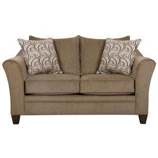 Lane® Home Furnishings 6485-02 Loveseat Albany Truffle 6485-02-8898A