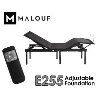 Malouf® Structures E255 Adjustable Bed Base | FREE SHIPPING!
