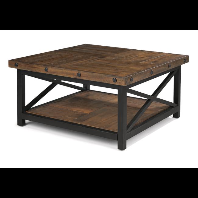 Flexsteel Carpenter | Square Cocktail Table 6722-032
