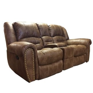 Town  Reclining Loveseat with Console 1010-604 349-72