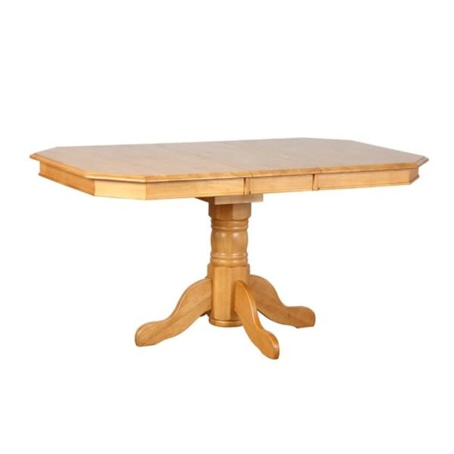 Sunset Trading DLU-TCP 3660 | Pedestal Extendable Dining Table