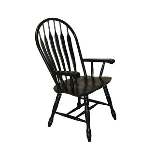 Sunset Trading Comfort Back  Arm 4130 Dining Chair | Set of 2