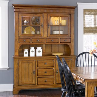 Liberty Furniture Treasures  Hutch & Buffet Set SKU: 17-DR-HB
