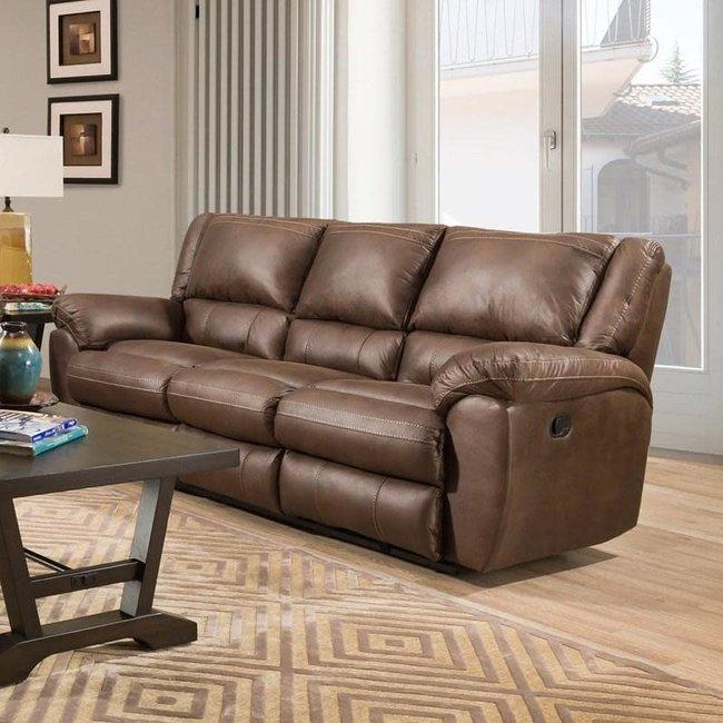 Lane® Home Furnishings 50433BR-53-8886B.Double Motion Sofa - Shiloh Sable