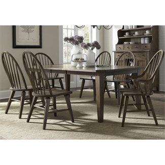 Liberty Furniture 7 Piece Rectangular Table Set (382-DR-7RLS)