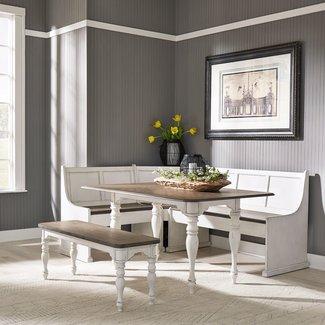 Liberty Furniture Magnolia Manor 5 Piece Rectangular Table Set SKU: 244-CD-5RLS
