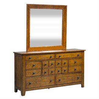Liberty Furniture Grandpas Cabin  Dresser & Mirror (175-BR-DM)