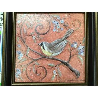 Art Effects Orange Bird
