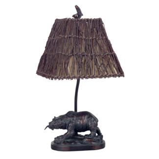 CAL Lighting Resin Bear Accent Lamp - BO-878