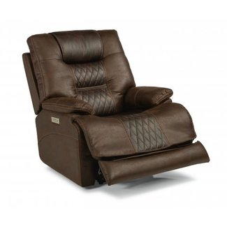 Flexsteel Flexsteel Dakota Fabric Power Recliner