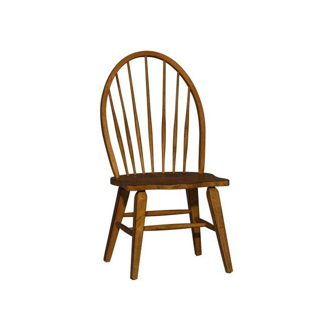Liberty Furniture Hearthstone Ridge Windsor Back Side Chair