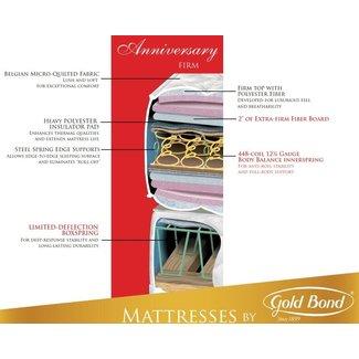 """Goldbond 940 Anniversary Series 11"""" High  Ultra Firm Mattress"""