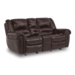 Flexsteel Town Gliding Reclining Loveseat with Console 1010-604