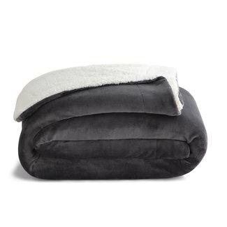Malouf Weekender Sherpa Fleece Blanket