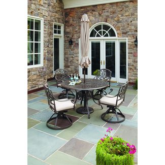 homestyles® Capri Taupe 6 Piece Outdoor Dining Set - 6659-3256