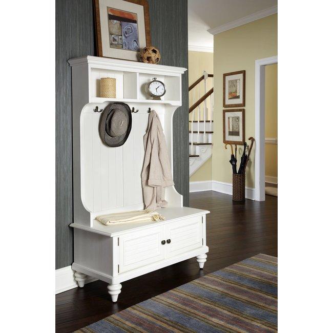 homestyles® Bermuda Off-White Hall Tree - 5543-49