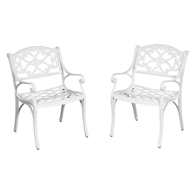 homestyles® Sanibel White 5 Piece Outdoor Dining Set - 6652-308