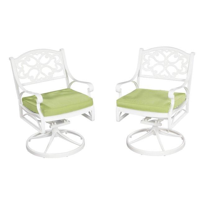 homestyles® Sanibel White Outdoor Swivel Chair - 6652-53C