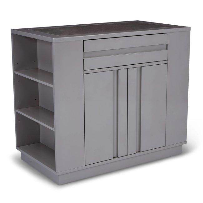 homestyles® Linear Gray Kitchen Island - 8001-93