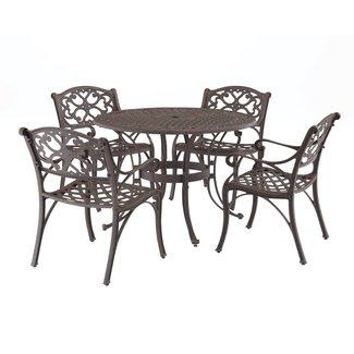 homestyles® Sanibel Bronze 5 Piece Outdoor Dining Set - 6655-328