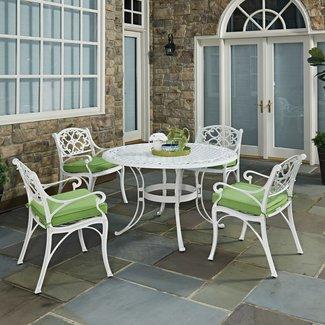 homestyles® Sanibel White 5 Piece Outdoor Dining Set - 6652-328C