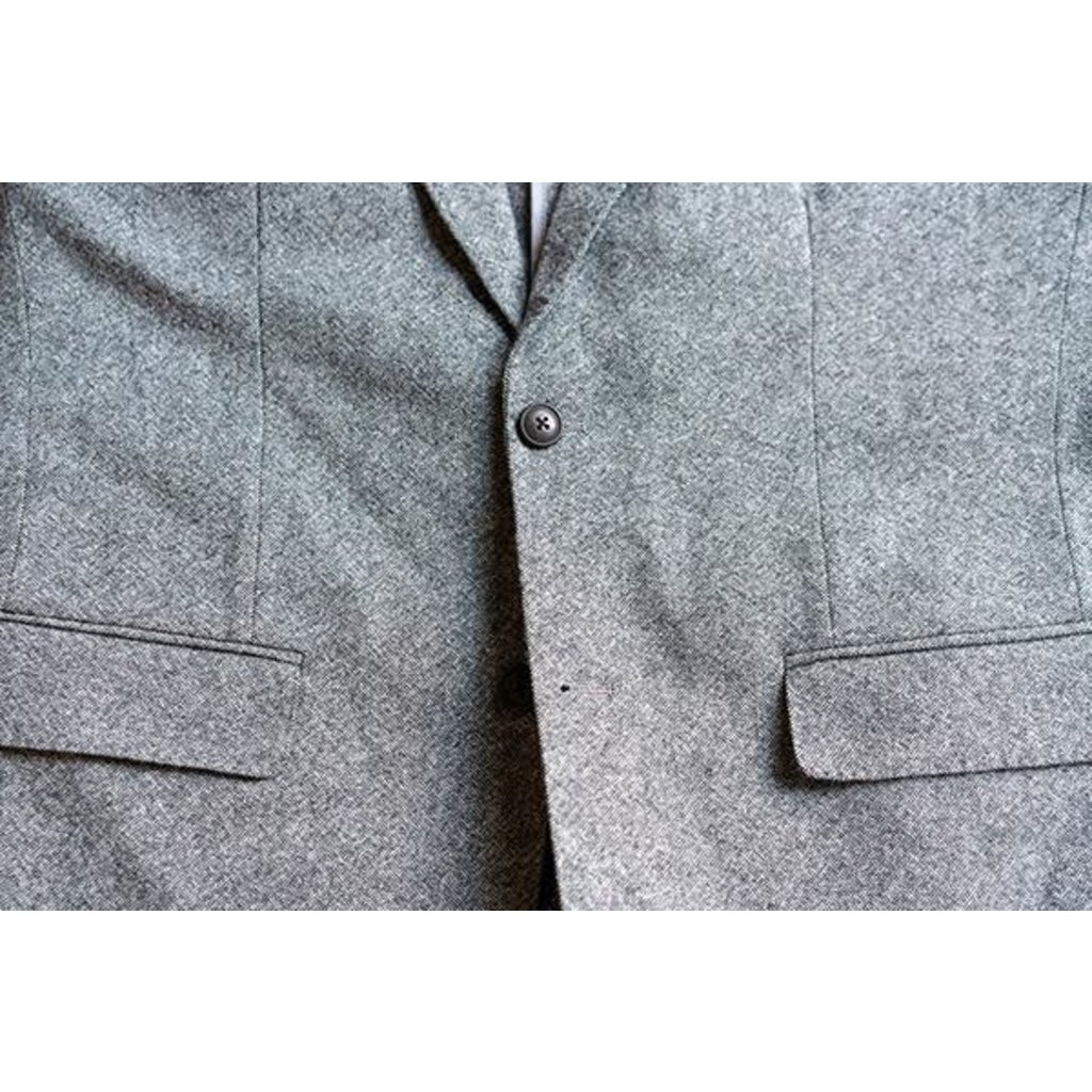 The Sporting Gent TSG + Ole Mason Jar Sport Coat - Grey Tweed