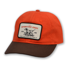 The Sporting Gent Pointer Patch Hat - Blaze/Brown
