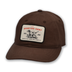The Sporting Gent Pointer Patch Hat - Brown