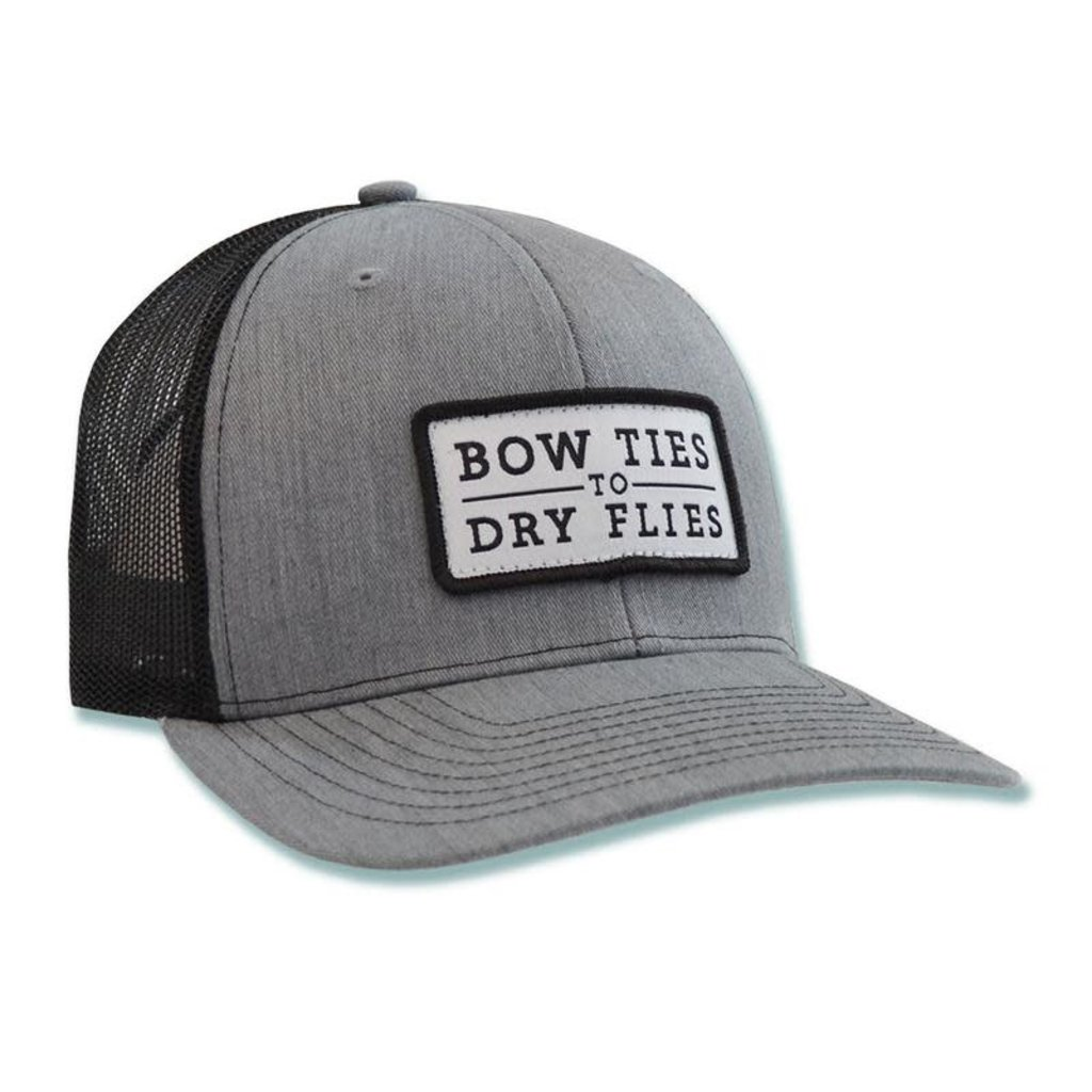 The Sporting Gent The Trademark Patch Hat - Heathered Grey & Black