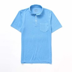 The Sporting Gent TSG Barrier Polo (Lt. Blue Heather)