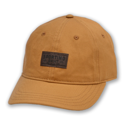 The Sporting Gent Traditions Patch Hat - Field Brown