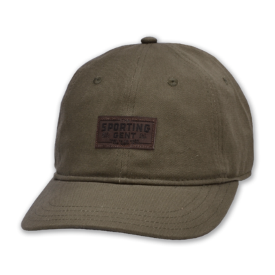 The Sporting Gent Traditions Patch Hat - Otter Green