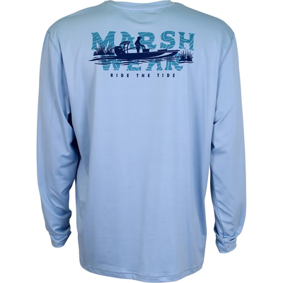 Marsh Wear Marsh Wear Drifter Performance Long Sleeve Tee