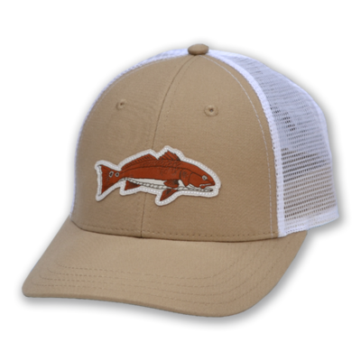 The Sporting Gent Bronzer Patch Hat - Tan/White