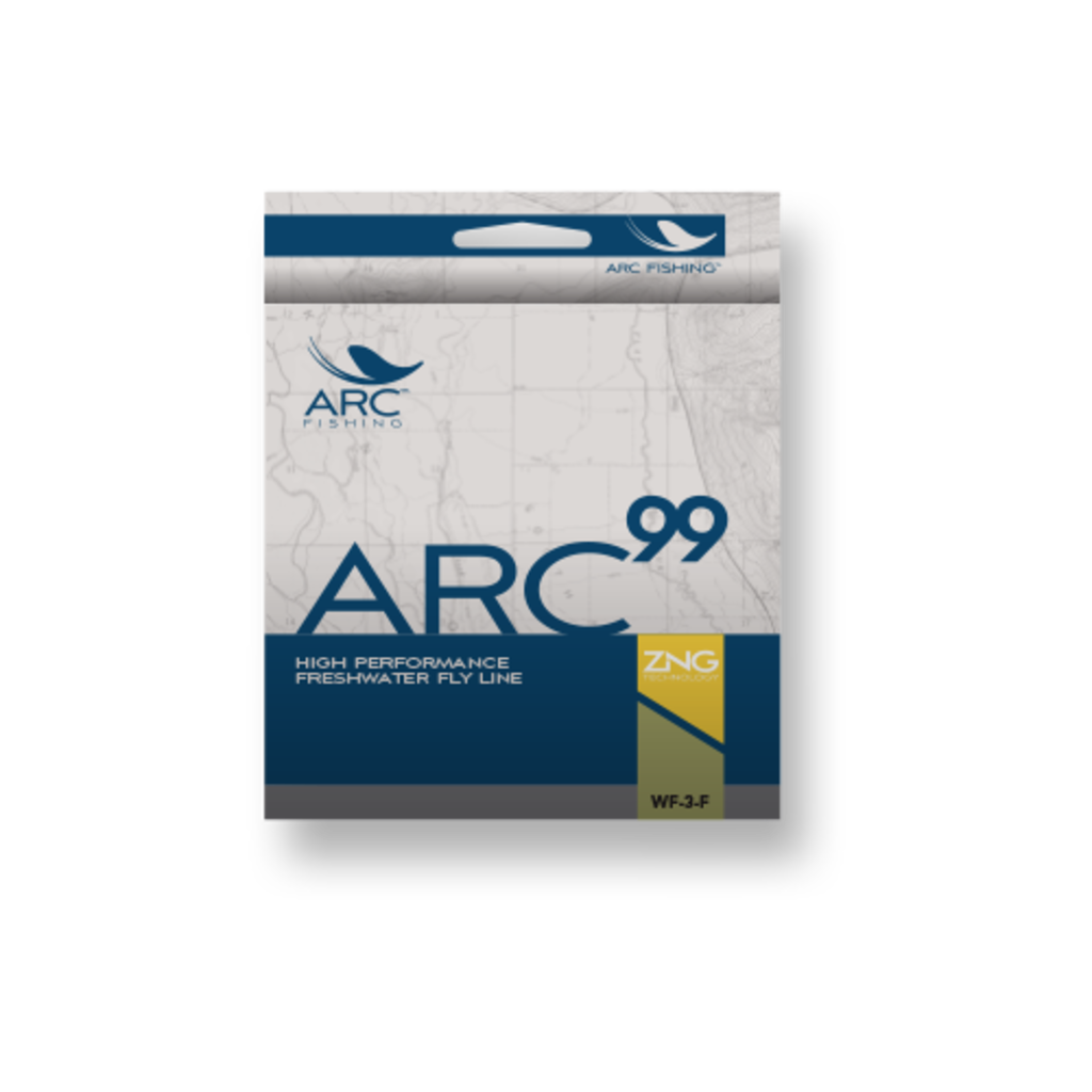 ARC Fishing ARC Fishing 99+ Freshwater Fly Line WF-4-F
