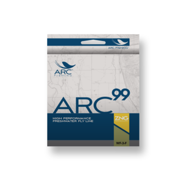 ARC Fishing ARC Fishing 99+ Freshwater Fly Line WF-4-F