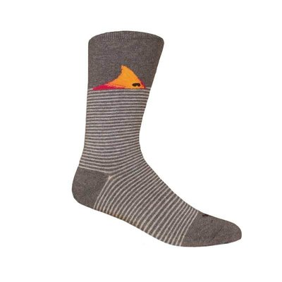 Brown Dog Hosiery Co. Brown Dog Hosiery Fort Fisher Socks - Dark Grey