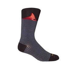 Brown Dog Hosiery Co. Brown Dog Hosiery Fort Fisher Socks - Navy