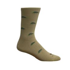 Brown Dog Hosiery Co. Brown Dog Hosiery Mahi Socks - Khaki
