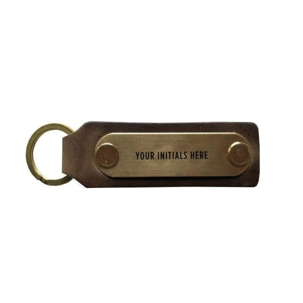The Sporting Gent Custom Leather Key Fob