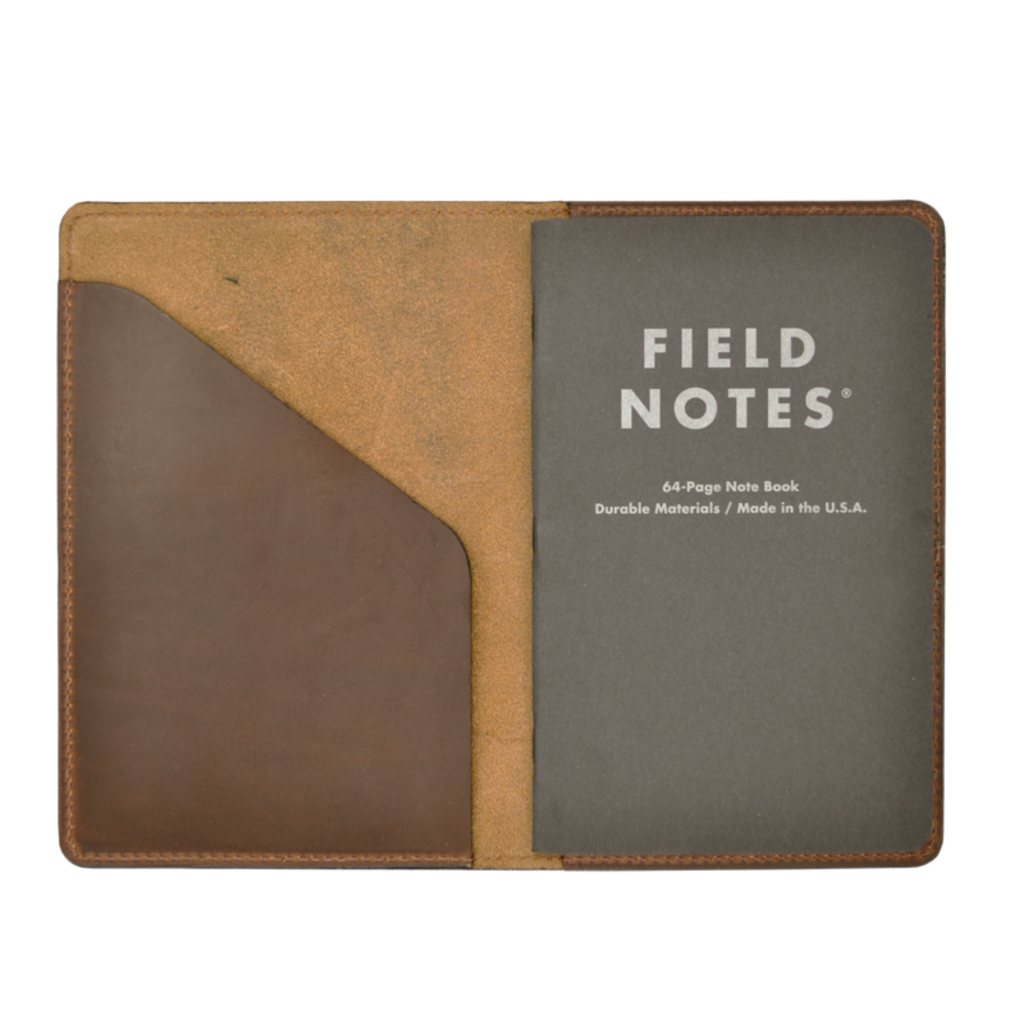 The Sporting Gent Field & Stream Leather Journal