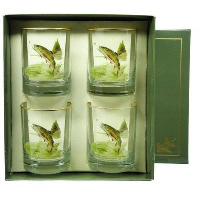 Richard E. Bishop Ltd. Richard E. Bishop Double Old Fashioned Set - Trout