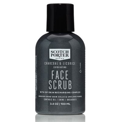 Scotch Porter Scotch Porter Charcoal & Licorice Exfoliating Face Scrub - 3.4 oz.
