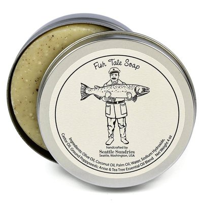 Seattle Sundries Seattle Sundries Fish Tales Soap