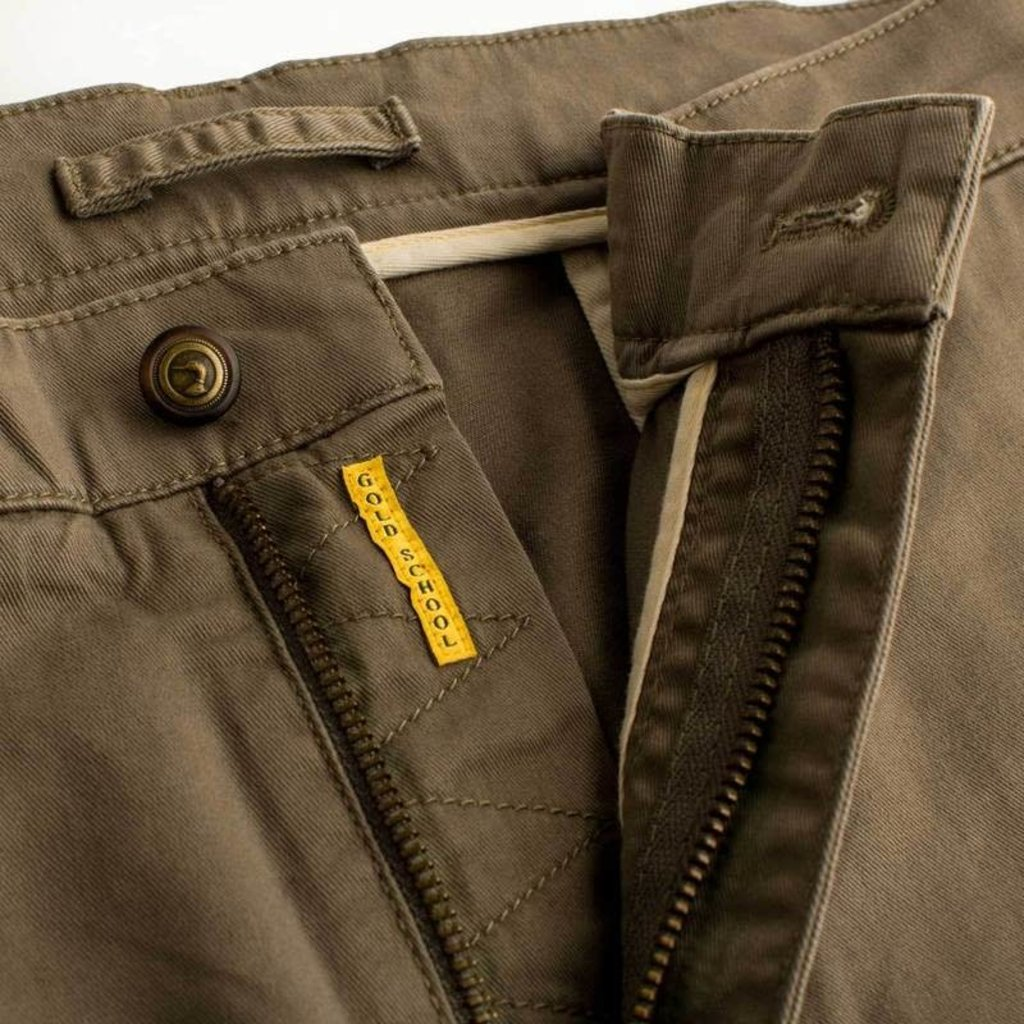 Duck Head Duck Head Gold School Chino - Olive Drab