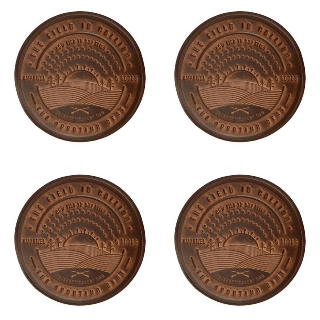 The Sporting Gent The Field is Calling Coaster Set
