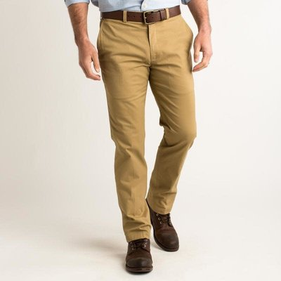 Duck Head Duck Head Green Badge Chino - Dark Khaki