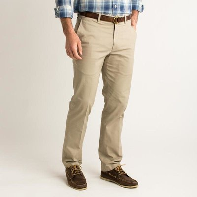 Duck Head Duck Head Green Badge Chino - Khaki