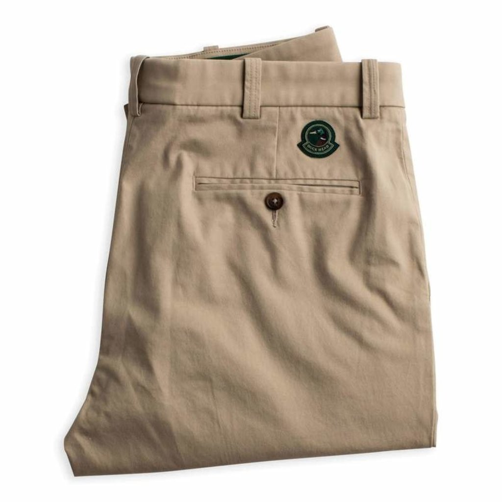 Duck Head Duck Head Green Badge Chino (Khaki)